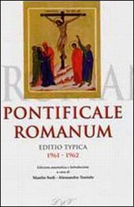 Libro Pontificale romanum. Editio typica 1961-1962