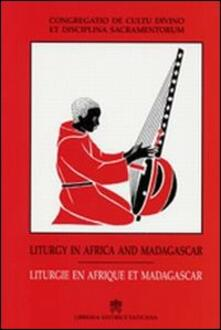 Liturgy in Africa and Madagascar