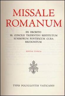 Cefalufilmfestival.it Missale romanum ex decreto SS. Concilii Tridentini restitutum summorum Pontificum cura recognitum. Editio typica Image