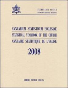 Annuarium statisticum ecclesiae (2008). Ediz. multilingue.pdf