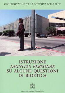 Grandtoureventi.it Istruzione dignitas personae su alcune questioni di bioetica Image