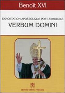 Verbum Domini. Exhortation apostolique post-synodale