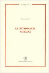 Libro La cittadinanza vaticana Alessio Sarais