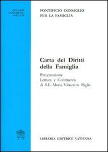 Libro Carta dei diritti della famiglia