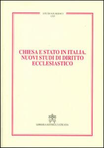 Libro Chiesa e Stato in Italia. Nuovi studi di diritto ecclesiastico