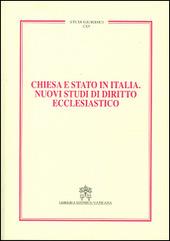 Chiesa e Stato in Italia. Nuovi studi di diritto ecclesiastico
