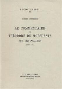 Libro Le commentaire sur les Psaumes (I-LXXX) Teodoro di Mopsuestia