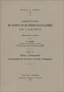 Commentaires sur les livres 3 et 4 de l'Almageste