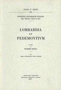Libro Rationes decimarum Italiae nei secoli XIII e XIV. Lombardia et Pedemontium