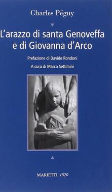 Fondazionesergioperlamusica.it L' arazzo di santa Genoveffa e di Giovanna D'Arco. Testo francese a fronte Image
