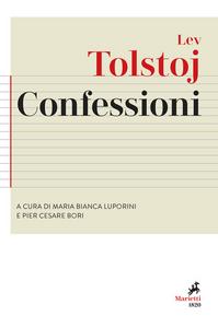 Libro Confessioni Lev Tolstoj