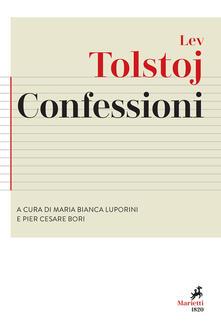 Confessioni. Preceduto da «Ricerca della vera fede» - Lev Tolstoj - copertina
