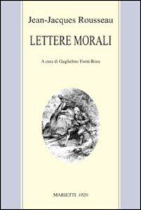 Libro Lettere morali Jean-Jacques Rousseau