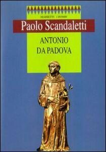 Libro Antonio da Padova Paolo Scandaletti