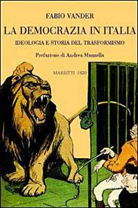 Libro La democrazia in Italia Fabio Vander