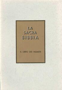 Libro Numeri