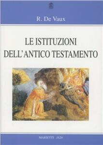 Le istituzioni dell'Antico Testamento