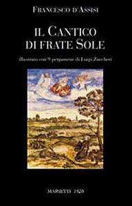 Foto Cover di Il Cantico di frate sole, Libro di Francesco d'Assisi (san), edito da Marietti