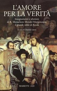 Libro L' amore per la verità Menachem M. Schneerson