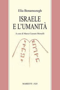 Libro Israele e l'umanità Elia Benamozegh