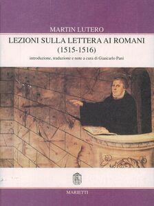Libro Lezioni sulla Lettera ai Romani. Vol. 1 Martin Lutero