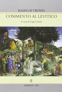 Libro Commento al Levitico Rashi di Troyes