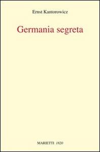Libro La Germania segreta Ernst H. Kantorowicz