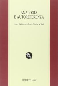 Libro Analogia e autoreferenza