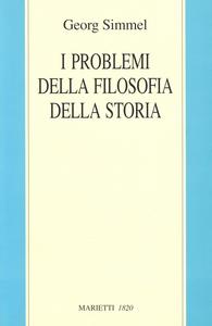 Libro I problemi della filosofia della storia Georg Simmel