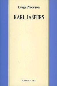 Libro Karl Jaspers Luigi Pareyson