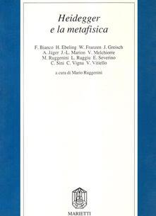 Winniearcher.com Heidegger e la metafisica Image