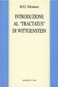 Libro Introduzione al «Tractatus» di Wittgenstein H. O. Mounce