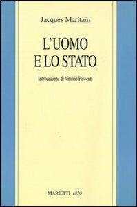 Libro L' uomo e lo Stato Jacques Maritain