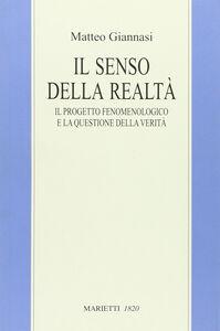 Libro Il senso della realtà. Il progetto fenomenologico e la questione della verità Matteo Giannasi