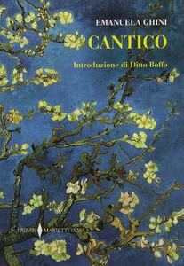 Foto Cover di Cantico, Libro di Emanuela Ghini, edito da Marietti