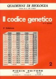 Libro Il codice genetico Alessandro Galizzi
