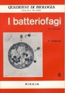 Libro I batteriofagi Gabriele Milanesi