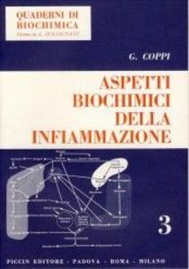Libro Aspetti biochimici della infiammazione G. Coppi