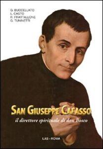 Libro San Giuseppe Cafasso il direttore spirituale di Don Bosco