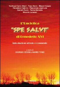 Libro L' enciclica «Spe salvi» di Benedetto XVI. Introduzione al testo e commento