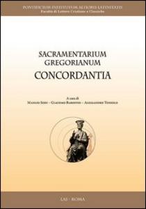 Libro Sacramentarium gregorianum concordantia