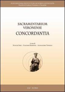 Libro Sacramentarium veronense concordantia