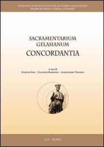 Libro Sacramentarium gelasianum concordantia