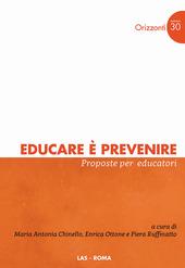 Educare è prevenire. Proposte per educatori