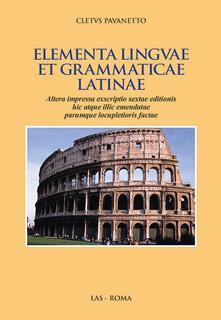 Filmarelalterita.it Elementa linguae et grammatica latinae Image