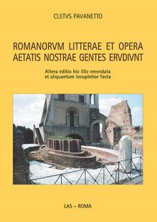 Warholgenova.it Romanorum litterae et opera aetatis nostrae gentes erudiunt Image