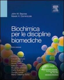 Parcoarenas.it Biochimica per le discipline biomediche Image