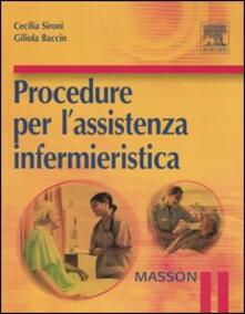 Nicocaradonna.it Procedure per l'assistenza infermieristica Image
