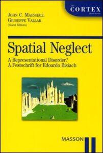 Foto Cover di Spatial neglect. A representational disorder? A festschrift for Edoardo Bisiach, Libro di  edito da Elsevier