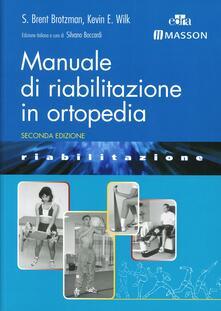 Vitalitart.it Manuale di riabilitazione in ortopedia Image